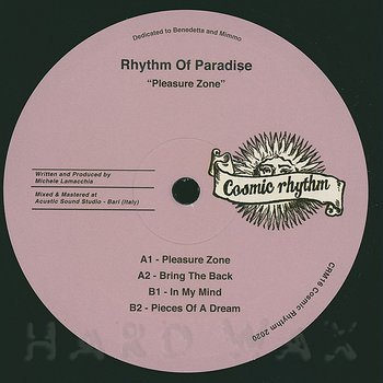 Cover art - Rhythm Of Paradise: Pleasure Zone