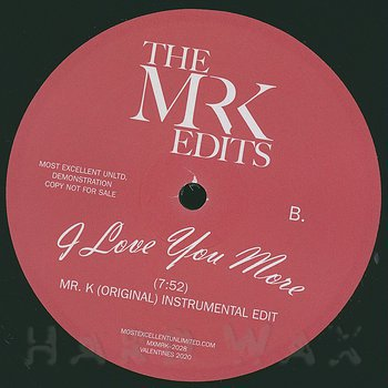 Cover art - The Mr. K Edits: I Love You More