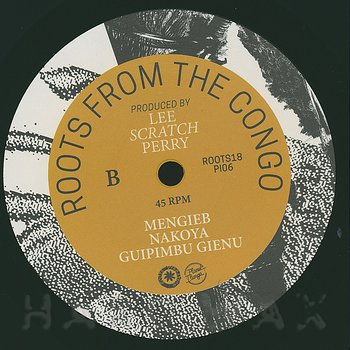 Cover art - Lee Scratch Perry with Seke Molenga & Kalo Kawongolo: Roots From The Congo