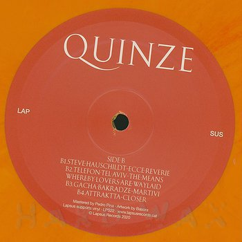 Cover art - Various Artists: Quinze