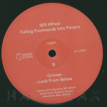 Cover art - Will Alfred: Falling Frontwards Into Pincers