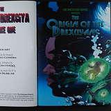 Cover art - Abdul Qadim Haqq & Dai Sato: The Book of Drexciya Vol. 1