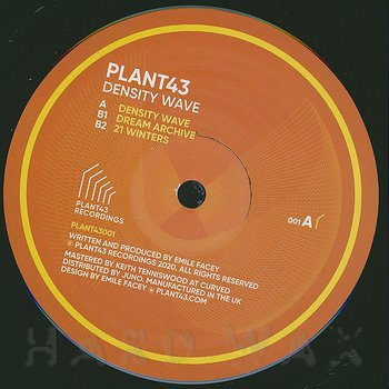 Cover art - Plant43: Density Wave
