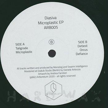 Cover art - Diasiva: Microplastic