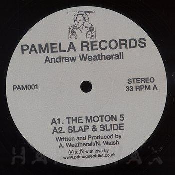 Cover art - Andrew Weatherall: Pamela #1