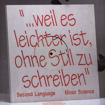 Cover art - Minor Science: Second Language