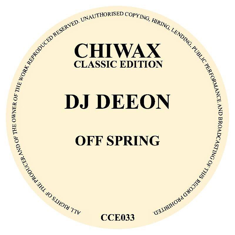 Cover art - DJ Deeon: Offspring