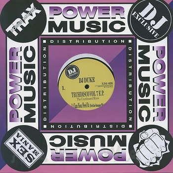 Cover art - DJ Duke: Techdisco Vol. 7 E.P. (The Unreleased Mixes)