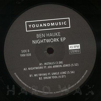 Cover art - Ben Hauke: Nightwork EP