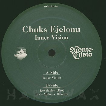 Cover art - Chuks Ejelonu: Inner Vision