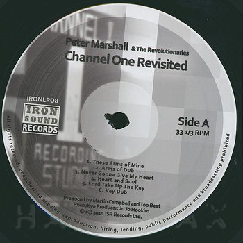 Cover art - Peter Marshall & The Revolutionaries: Channel One Revisited