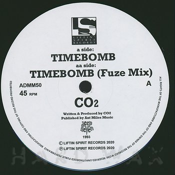 Cover art - CO2: Time Bomb