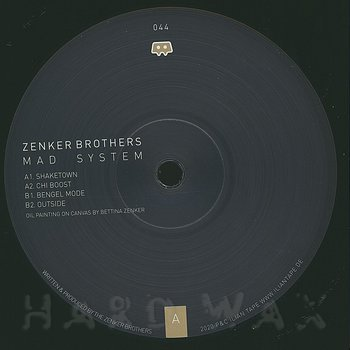 Cover art - Zenker Brothers: Mad System