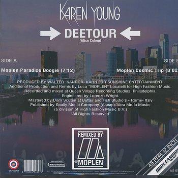 Cover art - Karen Young: Deetour (Moplen Remixes)
