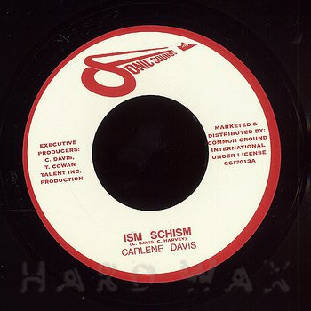 Cover art - Carlene Davis: Ism Schism
