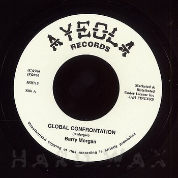 Cover art - Barry Morgan: Global Confrontation / Ripper