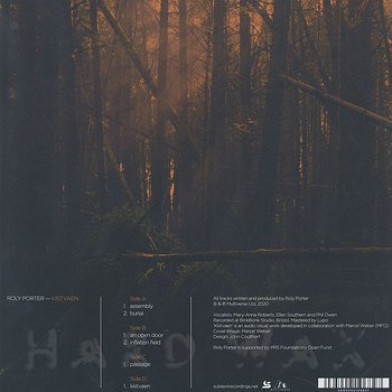 Cover art - Roly Porter: Kistvaen