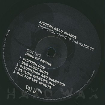 Cover art - African Head Charge: Churchical Chant Of The Iyabinghi