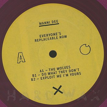 Cover art - Manni Dee: Everyone's Replaceable Now