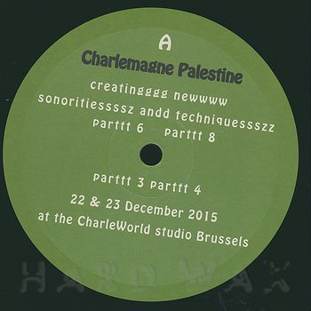 Cover art - Charlemagne Palestine: Frogsichord
