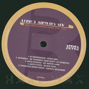 Cover art - Various Artists: Africa Airways Six (Mile High Funk 1974 - 1981)