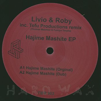 Cover art - Livio & Roby: Hajime Mashite