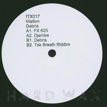 Cover art - Walton: Debris