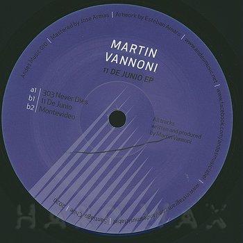 Cover art - Martin Vannoni: 11 de Junio