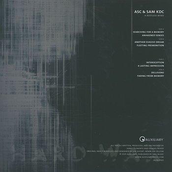 Cover art - ASC & Sam KDC: A Restless Mind