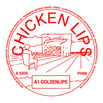 Cover art - Chicken Lips: Goldenlips