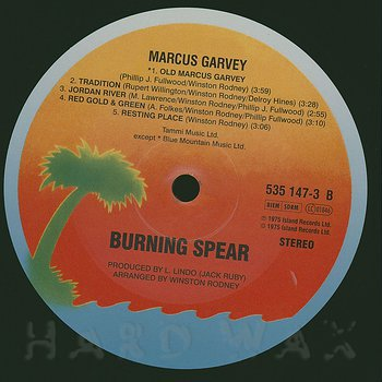 Cover art - Burning Spear: Marcus Garvey