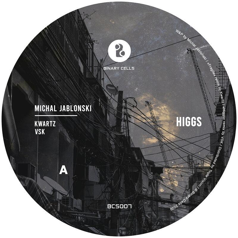 Cover art - Michal Jablonski: Higgs