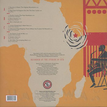 Cover art - Groupe RTD: The Dancing Devils Of Djibouti