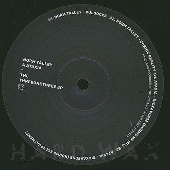 Cover art - Norm Talley & Ataxia: The ThreeOneThree EP