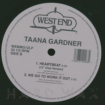 Cover art - Taana Gardner: Taana Gardner