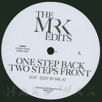 Cover art - The Mr. K Edits: One Step Back Two Steps Front