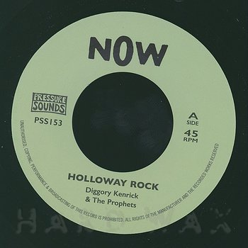 Cover art - Diggory Kenrick & The Prophets: Holloway Rock