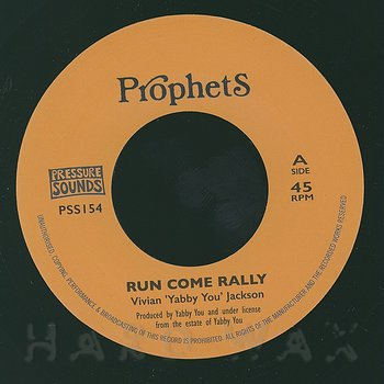 Cover art - Yabby You: Run Come Rally