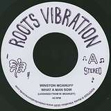 Cover art - Winston McAnuff: What A Man Sow