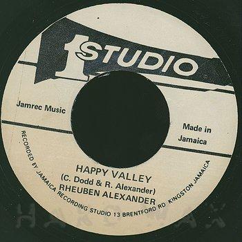 Cover art - Rheuben Alexander: Happy Valley