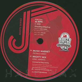 Cover art - Patrick Andy: Music Market