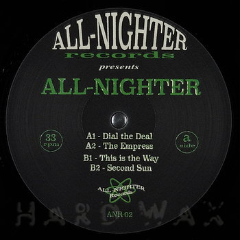 Cover art - All-Nighter: This Is The Way