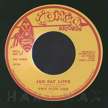 Cover art - Two Plus One: Jah Say Love