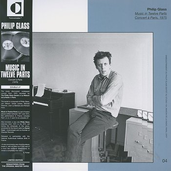 Cover art - Philip Glass: Music In Twelve Parts: Concert A Paris 1975