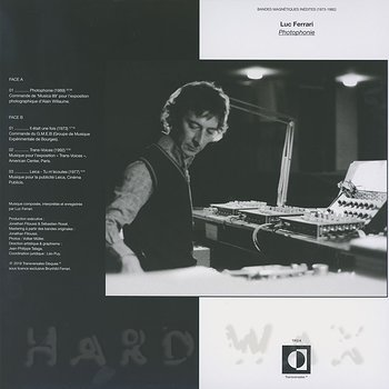 Cover art - Luc Ferrari: Photophonie (Bandes Magnétiques Inédites (1973-1992)