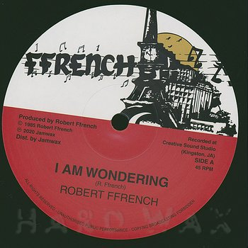 Cover art - Robert French: I Am Wondering