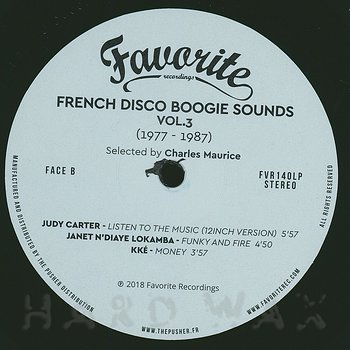 Cover art - Various Artists: French Disco Boogie Sounds Vol. 3 (1977-1987)
