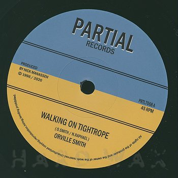 Cover art - Orville Smith: Walking On Tightrope