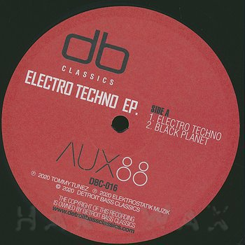 Cover art - Aux 88: Electro Techno EP