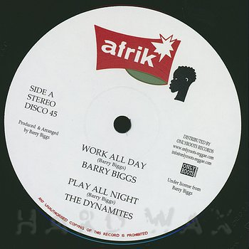 Cover art - Barry Biggs: Work All Day